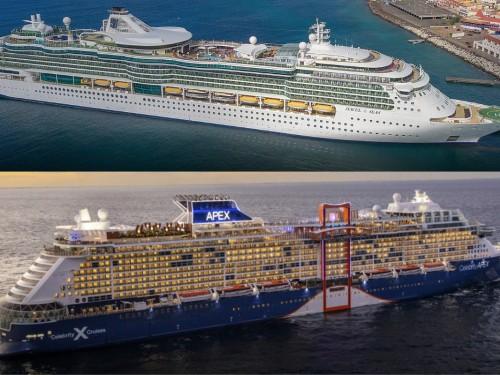 Le Celebrity Apex et le Jewel of the Sea navigueront en Méditerranée cet été