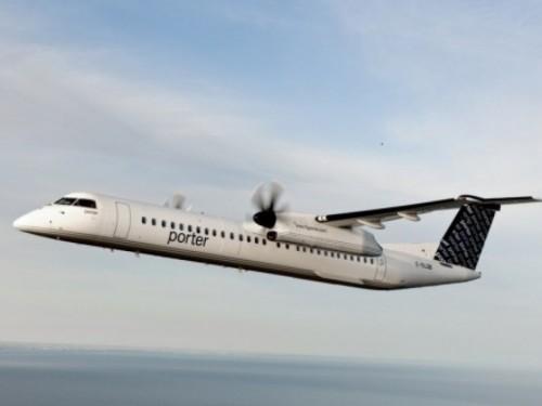 Nouvelle date provisoire pour le redémarrage des vols de Porter : le 21 juin