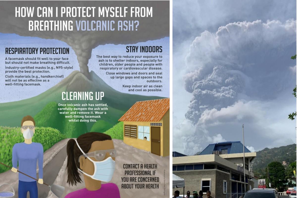 Éruption de La Soufrière : Carnival, RCI et Celebrity à la rescousse des résidents de Saint-Vincent