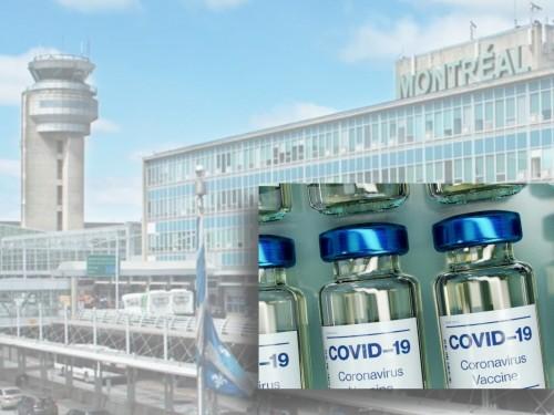 ADM, Air Canada et Bombardier créent « le pôle de vaccination YUL »