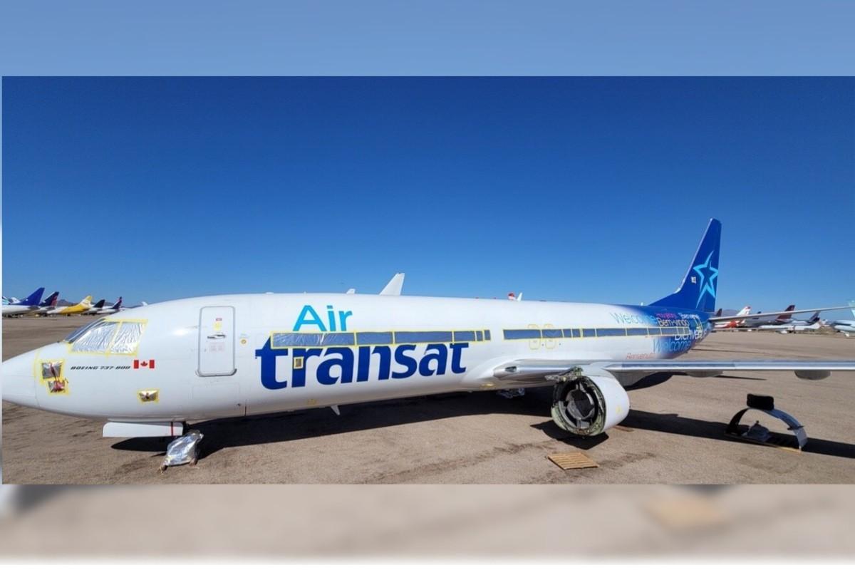 Chrono Aviation ajoute à sa flotte un Boeing 737-800 ayant appartenu à Transat