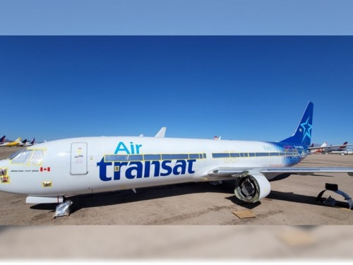 Chrono Aviation ajoute à sa flotte un Boeing 737-800 ayant appartenu à Transat