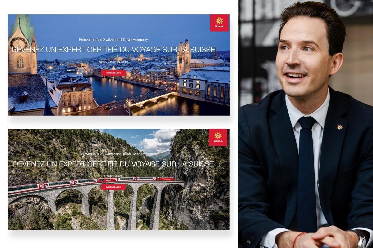 L'«Académie du voyage de la Suisse» est maintenant accessible en français