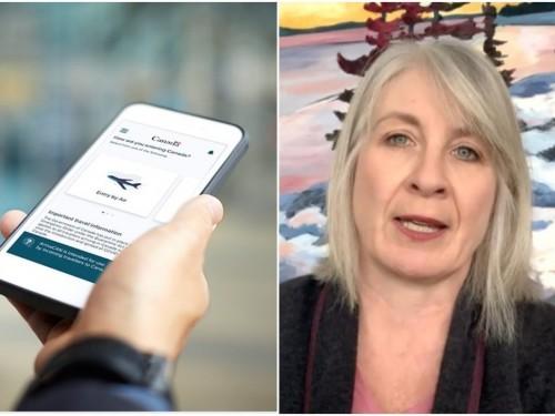 Le passeport vaccinal de voyage pourrait être intégré à l'application ArriveCAN