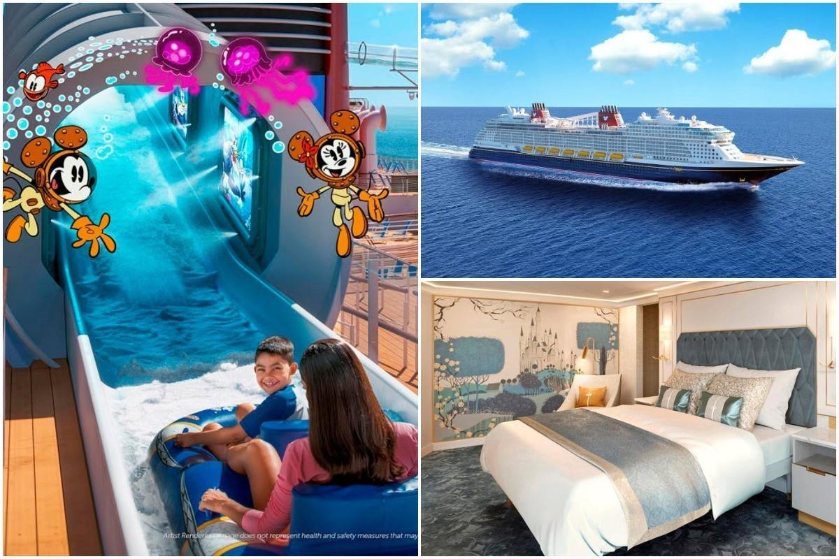 PHOTOS : DCL dévoile le Disney Wish, promesse d'émerveillement et d'attractions inédites