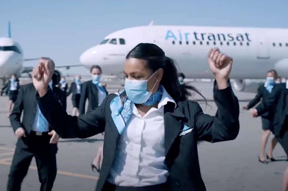 VIDÉO : Regardez comment Air Transat relève le «Jerusalema Dance Challenge»!