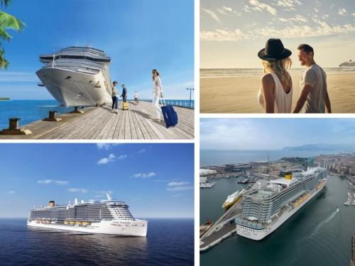 Costa dévoile ses itinéraires en Méditerranée pour l'été 2021