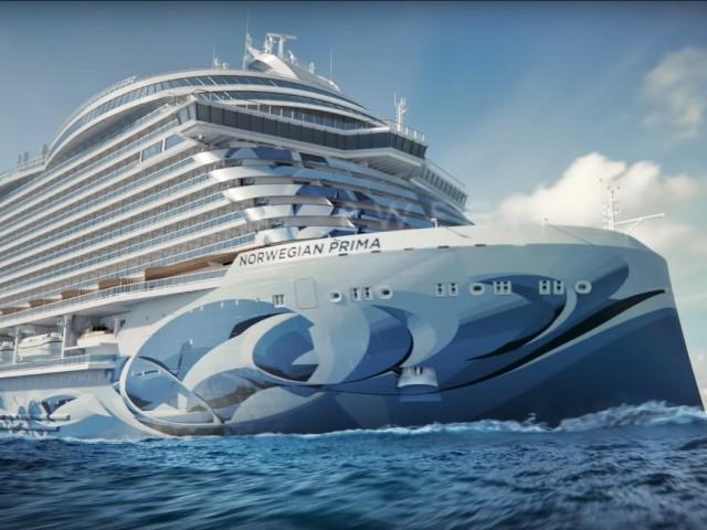 Des images du Prima, le navire qui changera la donne pour NCL à l'été 2022