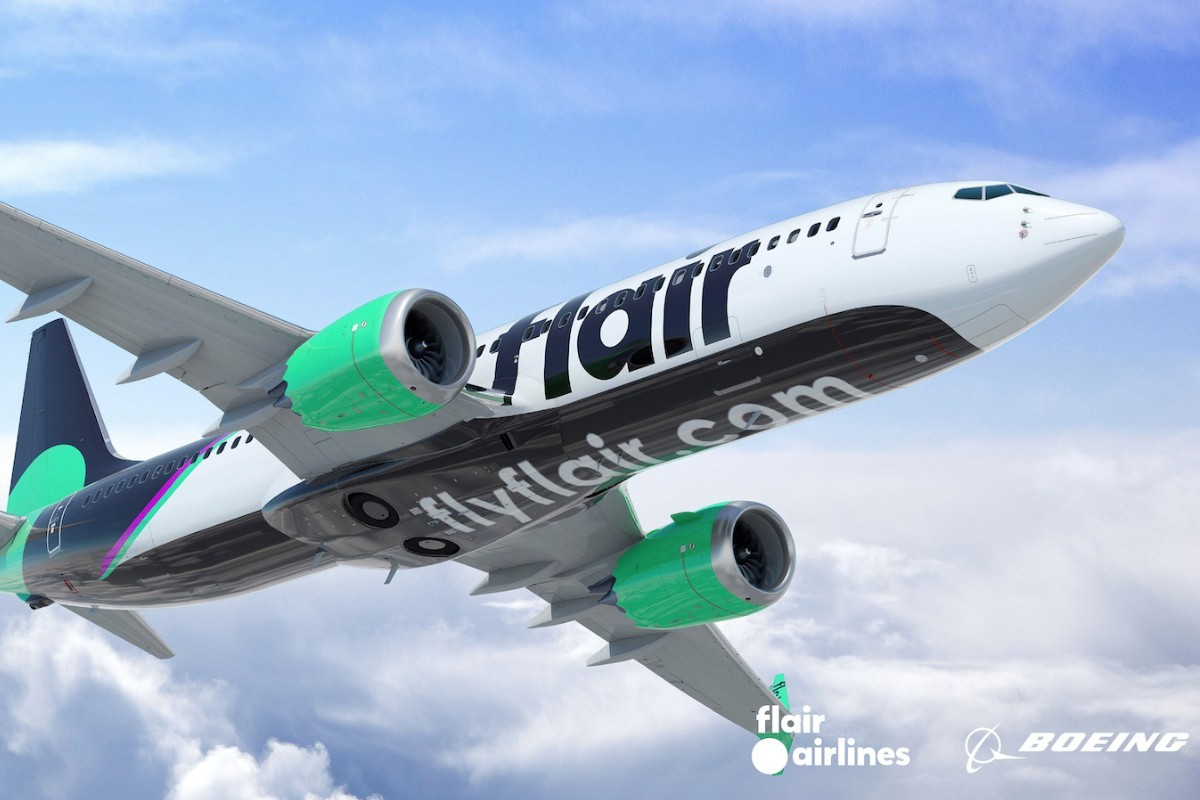 Flair Airlines lance une application mobile