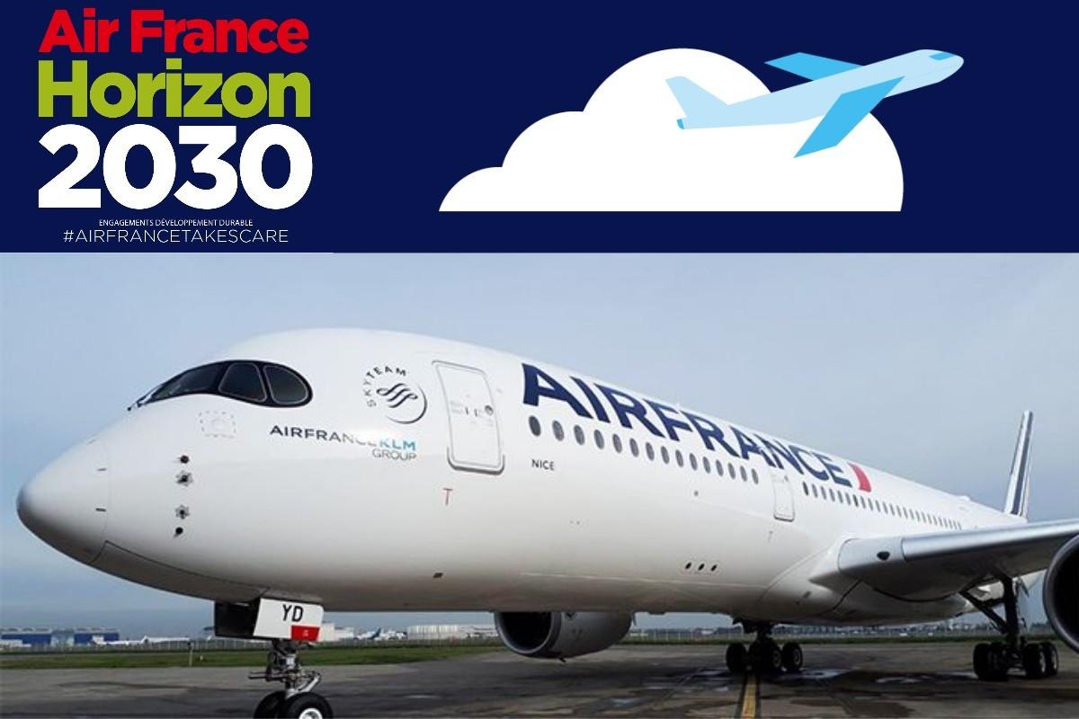 Le 1er vol long-courrier d'Air France avitaillé de SAF atterrira à YUL aujourd'hui