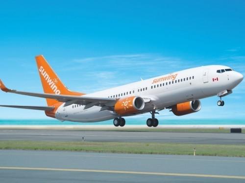 Sunwing offrira des vols hebdomadaires à Saguenay-Bagotville