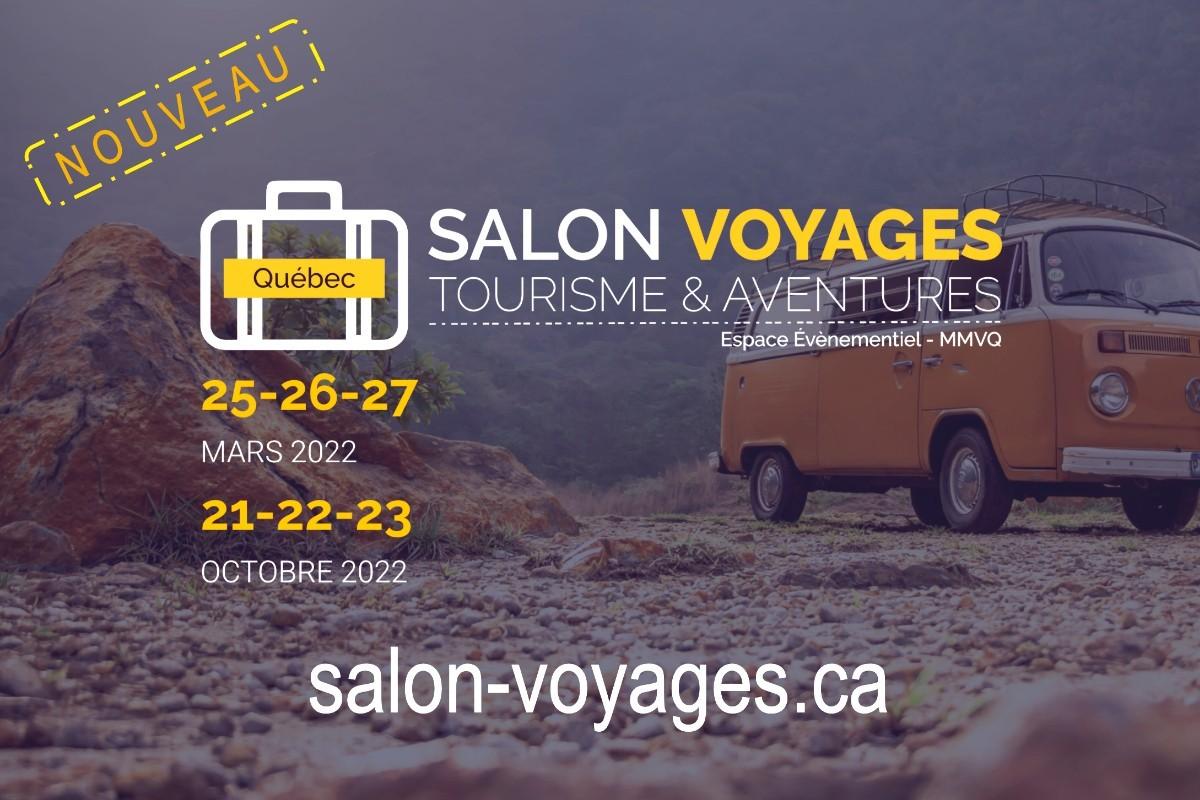 Québec accueillera deux nouveaux salons consacrés aux voyages, au tourisme et à l'aventure en 2022