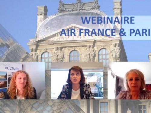 Vous avez manqué le webinaire Air France & Paris? Toute l'info reste à votre portée!