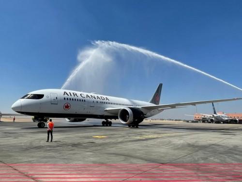 Air Canada inaugure son nouveau service Montréal−Le Caire