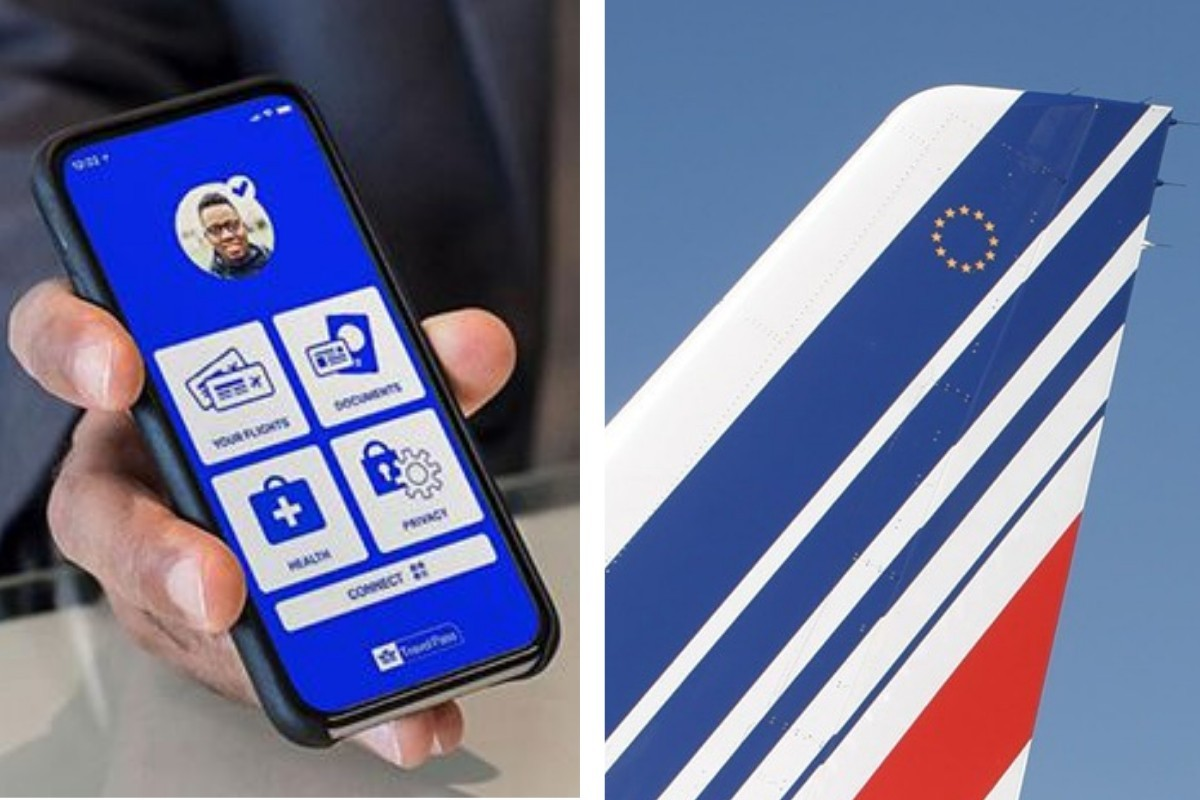 Air France teste l'appli «IATA Travel Pass» entre YUL et CDG