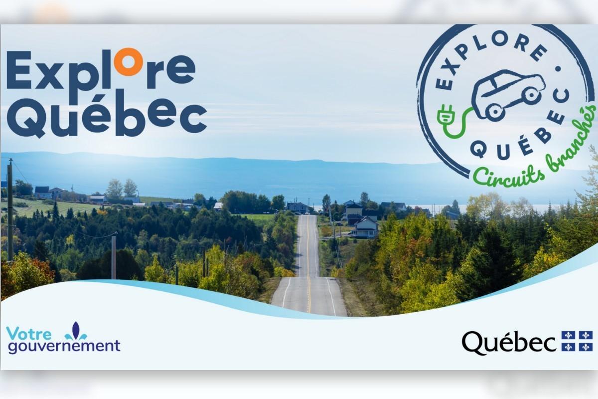 Place aux premiers circuits touristiques électriques forfaitisés au Québec !