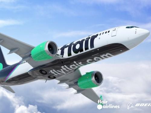 Flair Airlines lance ses services au départ de Montréal