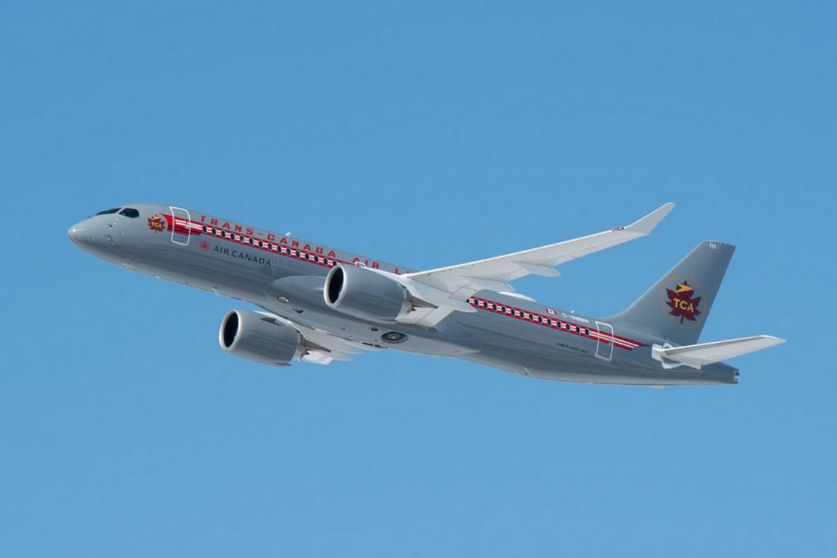Air Canada célèbre sa nouvelle liaison Montréal-Kelowna