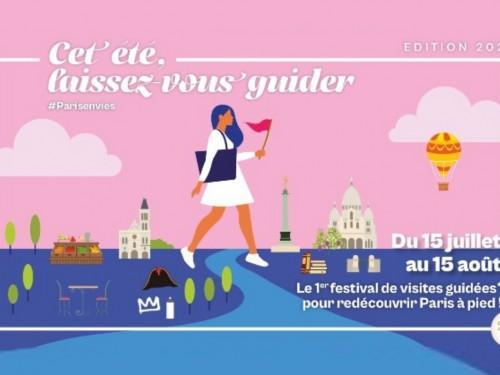 Un festival pour découvrir Paris autrement, à pied, avec des guides conférenciers