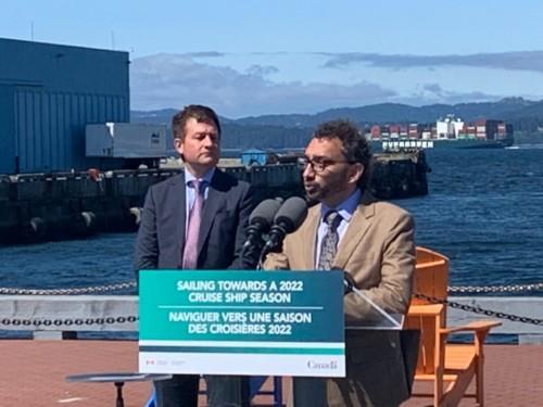L'interdiction des croisières en eaux canadiennes sera levée le 1er novembre