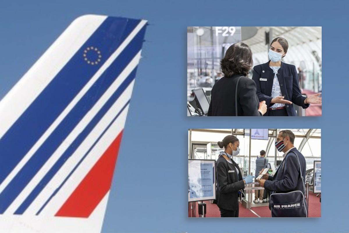 Air France lance un service de vérification des documents de voyage avant le départ : «Ready to Fly»