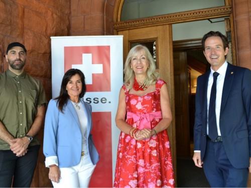 Suisse Tourisme procède à son lancement estival à Montréal