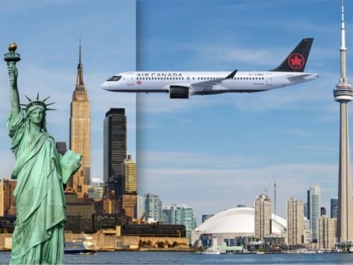 Air Canada publie son horaire d'été Canada–É.-U. comportant jusqu'à 220 vols quotidiens