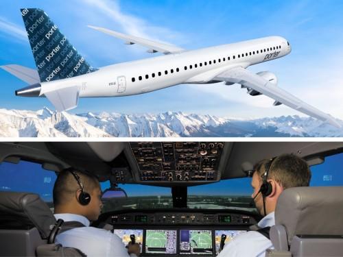 Porter se dote du premier simulateur de vol pour l'E2 en Amérique du Nord