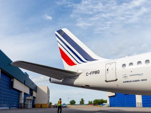 Air France prépare l'arrivée de l'Airbus A220