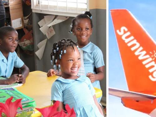 Sunwing soutient les enfants dans les Caraïbes et au Mexique avec Bentley
