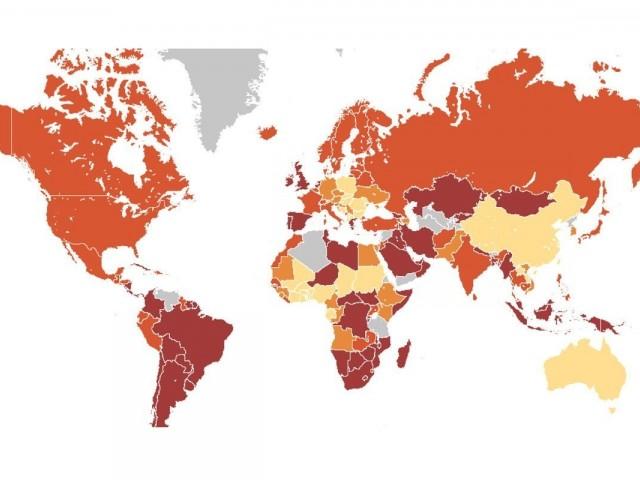 Le CDC ajoute 16 destinations à sa liste de risque « très élevé » de COVID-19