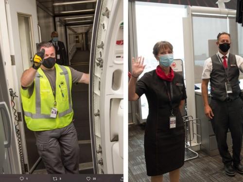 Air Canada parmi les 50 lieux de travail « les plus engagés »