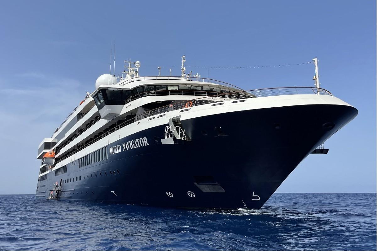 Le World Navigator d'Atlas Ocean Voyages entre en service