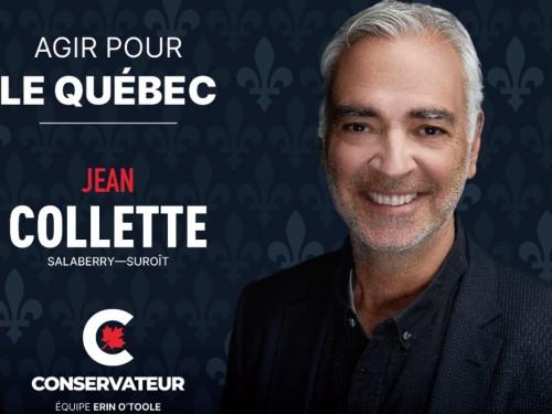 Jean Collette se lance en politique fédérale !
