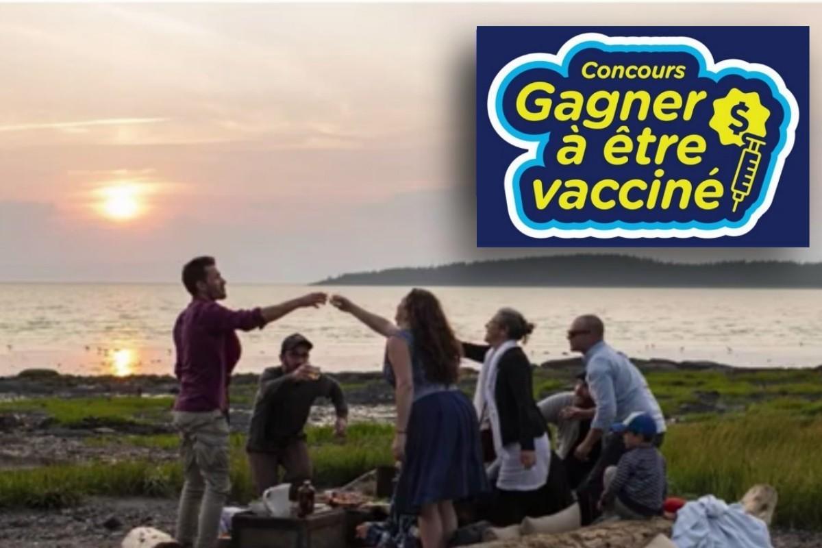Concours «Gagner à être vacciné!» : le ministère du Tourisme ajoute quatre lots