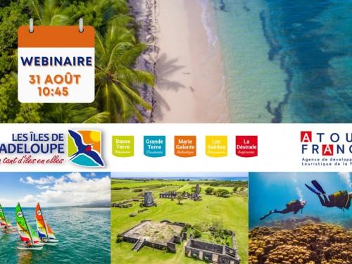 Les pros sont conviés à un webinaire sur la Guadeloupe