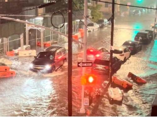 Inondations dans les États de New York et du New Jersey
