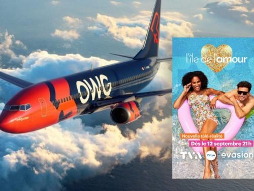 Transporteur officiel de «L'Île de l'amour», OWG volera vers Los Cabos