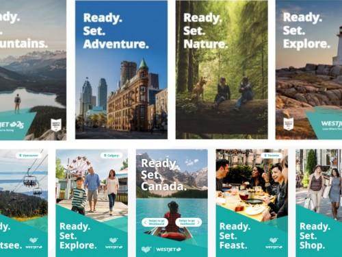 WestJet et Destination Canada s'associent