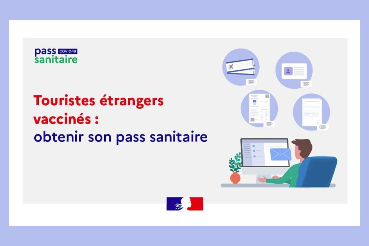 France : nouvelle procédure de demande d'obtention d'un passe sanitaire pour les Canadiens