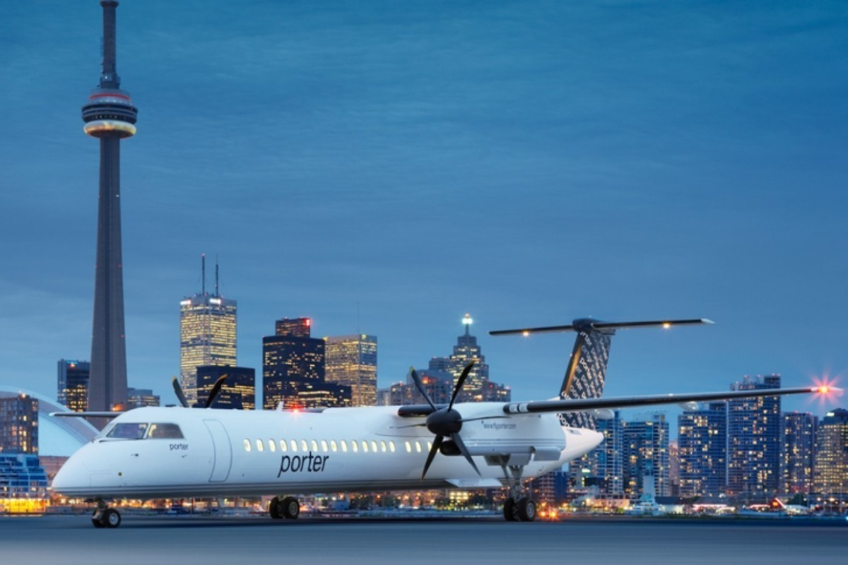 Porter Airlines reprend les airs aujourd'hui