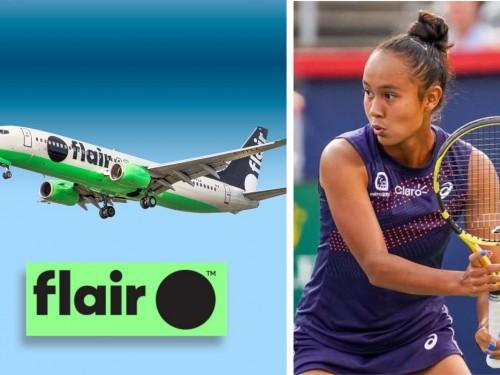 La sensation du tennis Leylah Fernandez devient ambassadrice de Flair Airlines