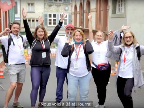 VIDÉO : Échos de la Course d'Air Canada 2021 à Bâle, en Suisse