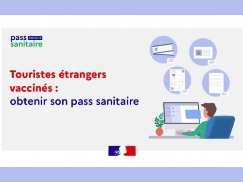 Passe sanitaire en France : nouvelle demande simplifiée (12 ans et plus) pour tous les non-Européens