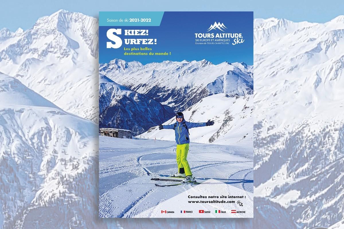 Tours Altitude lance sa brochure virtuelle pour la saison 2021-2022