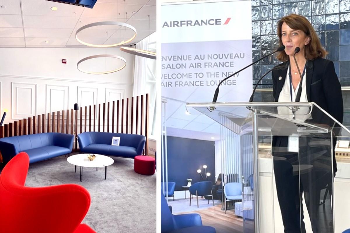 Air France inaugure son nouveau salon à YUL!