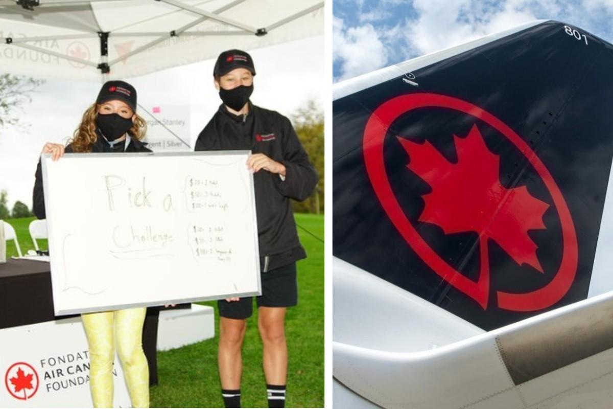Le tournoi de golf de la Fondation Air Canada récolte plus de 765 000 $ pour les jeunes Canadiens