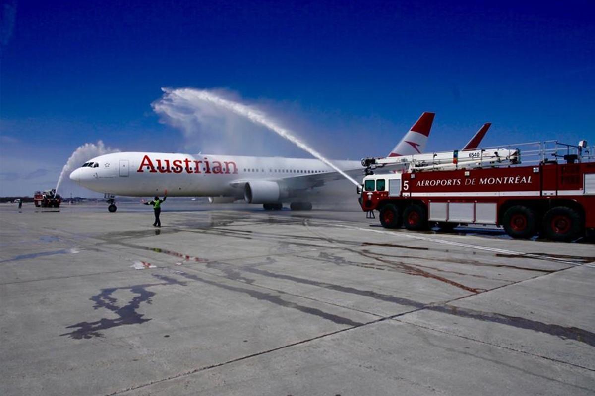 Austrian Airlines reprend sa liaison Montréal – Vienne