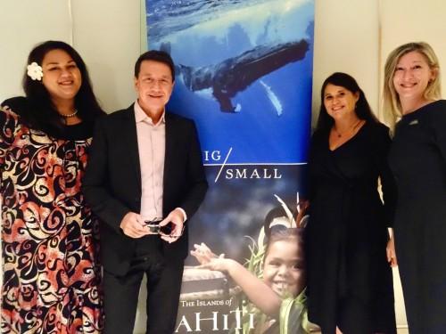 Tahiti Tourisme rappelle ses charmes (en présentiel) à ses partenaires québécois