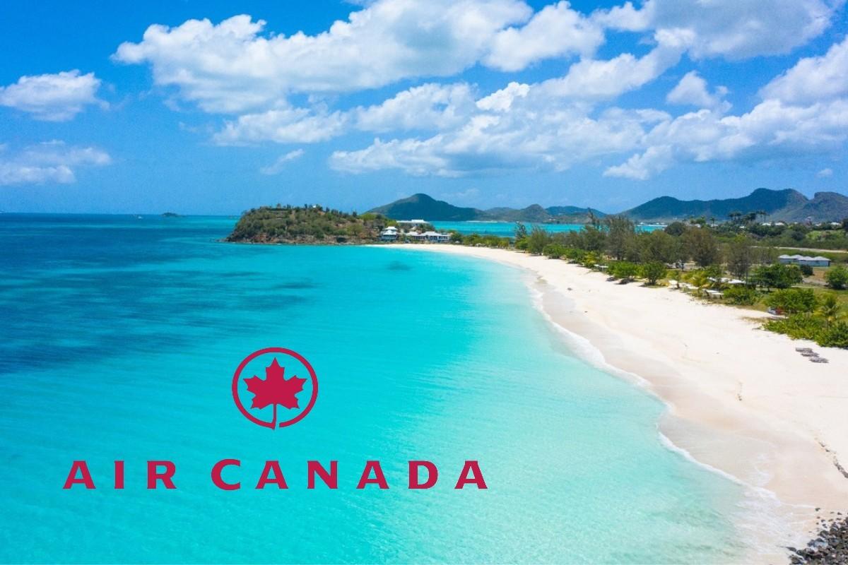 Air Canada : reprise des vols vers Antigua-et-Barbuda le 3 octobre